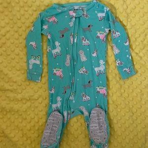 12 month Carter's zipper footed Pajama BOGO